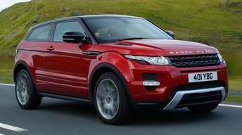 2012 Range Rover Evoque & 2012 BMW Z4 Roadster