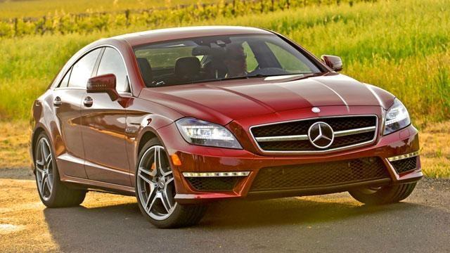 2012 Mercedes-Benz CLS63 AMG & 2012 Hyundai Accent image