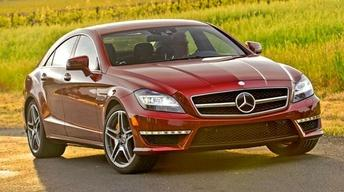 2012 Mercedes-Benz CLS63 AMG & 2012 Hyundai Accent image