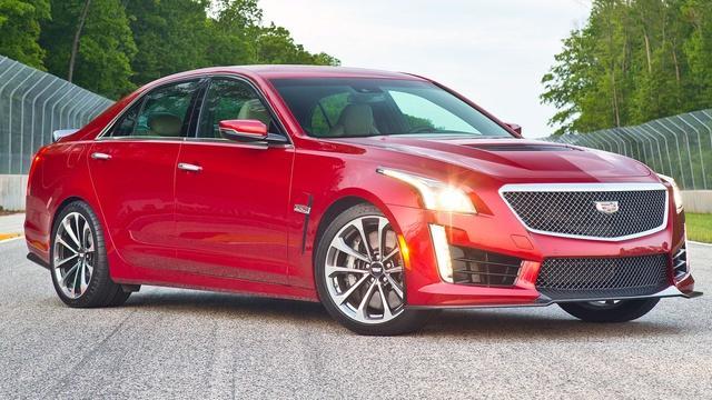 2016 Cadillac CTS-V & ATS-V & 2016 Audi Q3