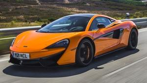 2016 McLaren 570S & 2016 Honda Civic Coupe