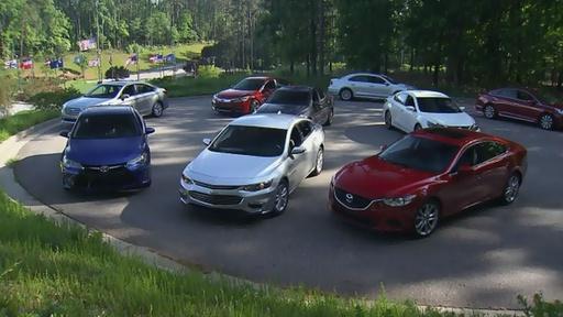 Mid-Size Sedan Challenge & 2016 Dodge Viper ACR Video Thumbnail