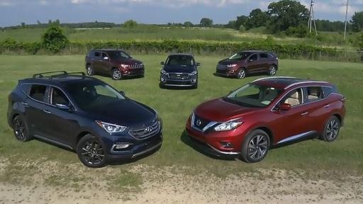 Cars.com Mid-Size SUV Challenge & 2017 McLaren 570 GT Video Thumbnail