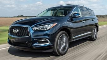 2017 Infiniti QX60 & 2016 Ford Focus RS