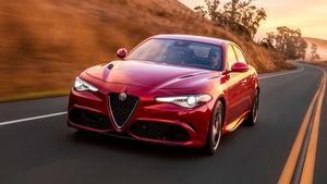 2017 Alfa Romeo Giulia & 2017 Buick Envision
