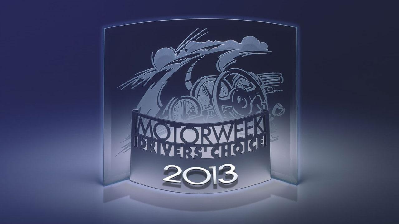 2013 MotorWeek Drivers' Choice Awards image