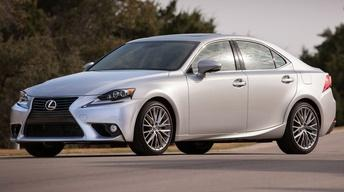2014 Lexus IS & 2013 Honda Civic image