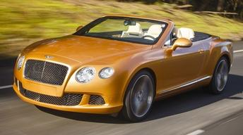 2014 Bentley Continental GT Speed Convertible & 2014 Lexus I