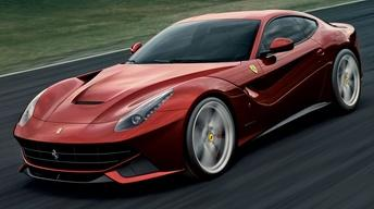 2013 Ferrari F12 Berlinetta & Full Size Sedan Challenge