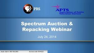 7/24 Spectrum Webinar from APTS and PBS