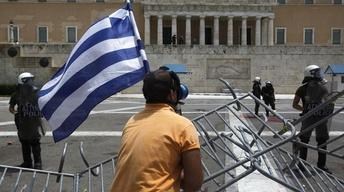 Greece's debt, redistricting, New York Times image