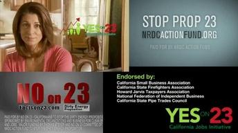 A Political Climate: The Battle Over Prop 23