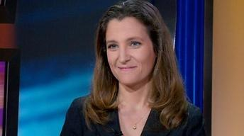 Interview with Chrystia Freeland image
