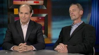 David Carr and Brian Stelter on 'Page One'