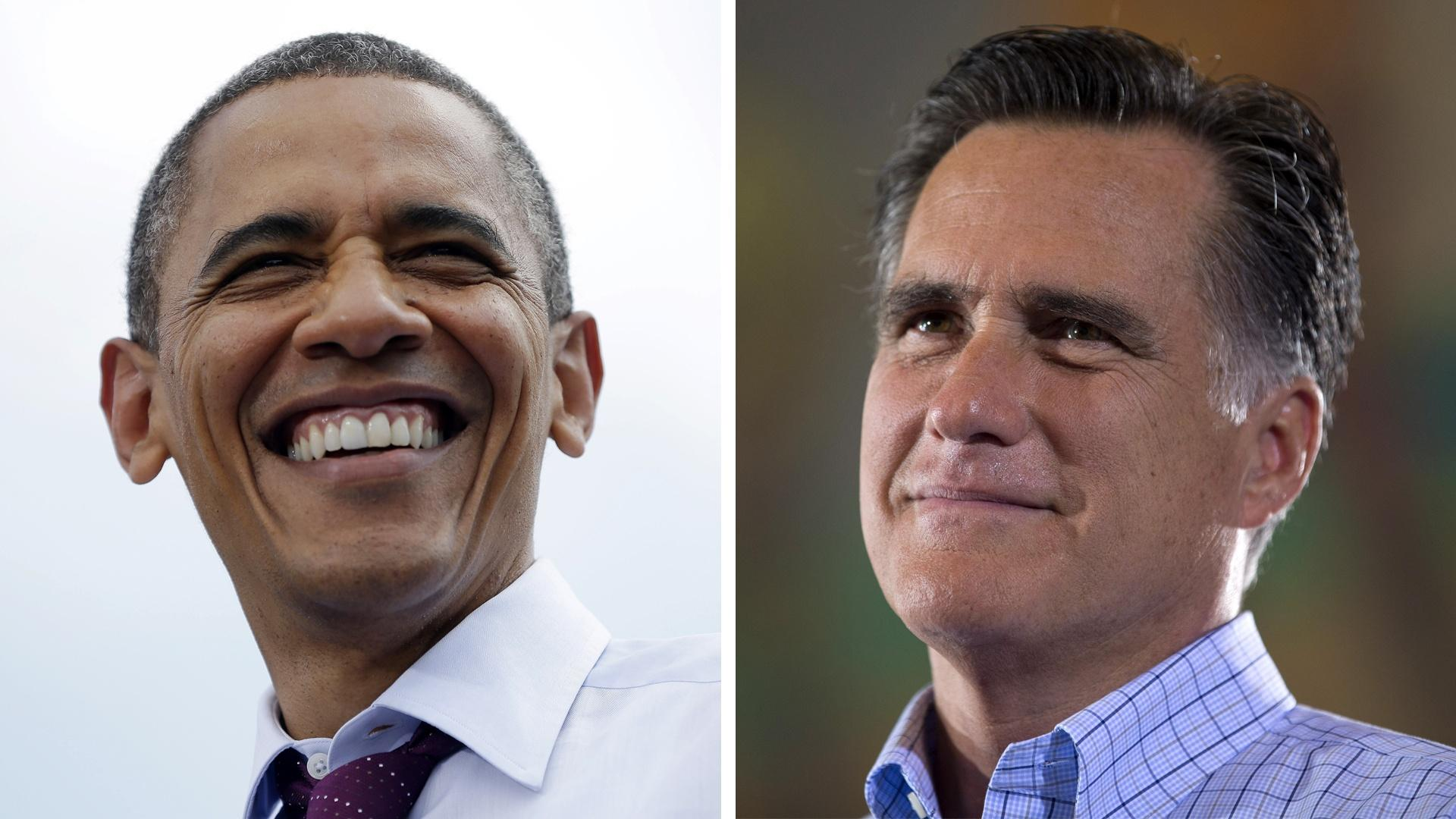 100 Days: Romney or Obama?  image