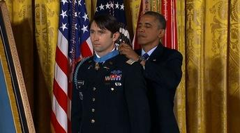 Afghan war hero awarded Medal of Honor for brave actions