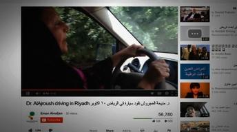 Saudi women take to the road