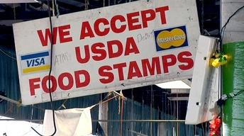 Food stamp cuts force families to get by with less