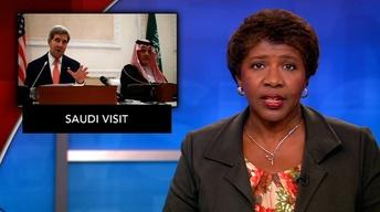 News Wrap: Kerry aims to mend U.S.-Saudi relations