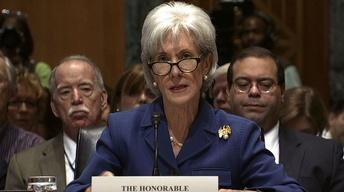 Kathleen Sebelius: Delay of health care law 'not an option'