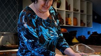 Food writer Paula Wolfert cooking to cope with Alzheimer's