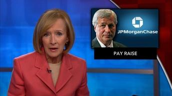 News Wrap: JPMorgan gives raise to CEO Dimon
