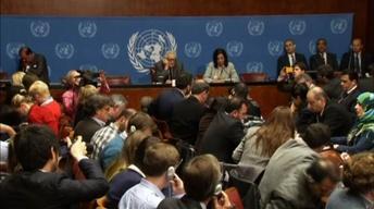 Syrian peace talks back on despite tense day in Geneva