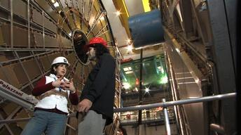 Seven years, 500 hours of footage capture 'Particle Fever'