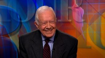 Jimmy Carter on Israel, Ukraine and violence against women