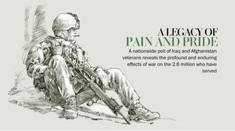 Washington Post looks at lives of Iraq, Afghanistan veterans