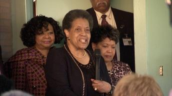 Mylie Evers at the Congressional Civil Rights Pilgrimage