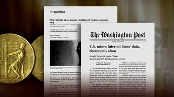 Pulitzer Prize renews debate over NSA surveillance reporting