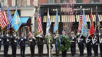 One year later, Boston pauses to remember marathon bombings