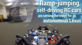 Lab using RC cars to build a better autonomous vehicle