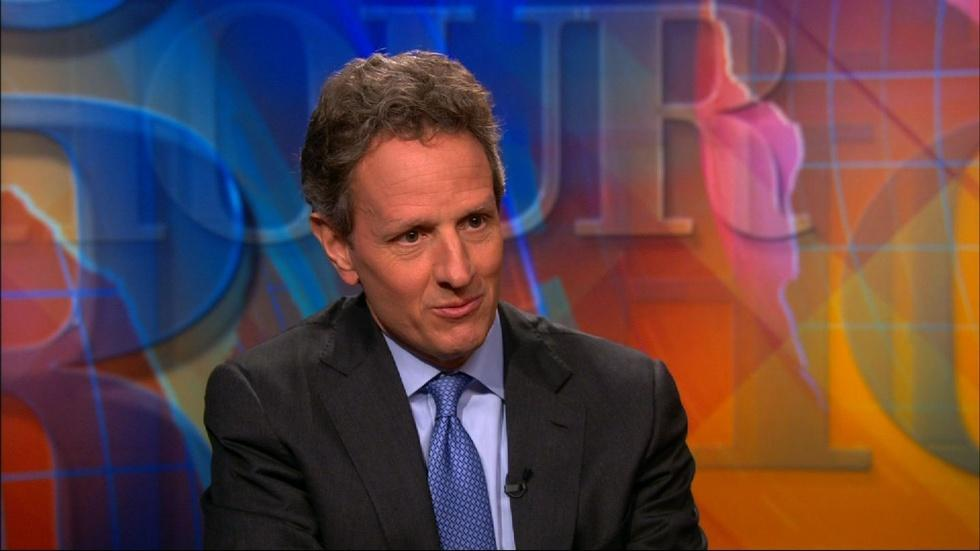 Timothy Geithner reflects on scars of the financial crisis image