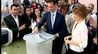 Syria holds presidential election widely condemned as rigged