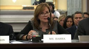 CEO Mary Barra defends GM's top lawyer at Senate hearing