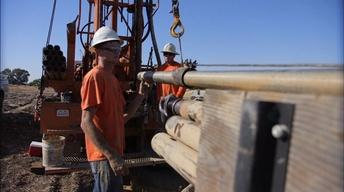 Drilling underground to quench California's thirst