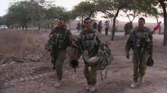 Israeli troops leave Gaza as long-term truce efforts resume