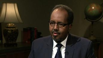 Somalia's president on challenges to building democracy