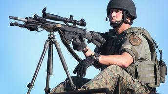 Why military equipment is in the hands of local police
