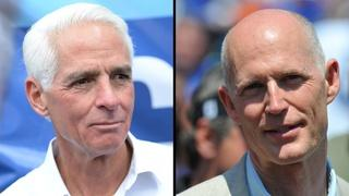 Former and current governors go head-to-head in Florida race
