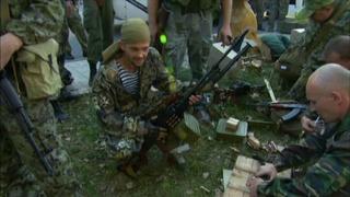 Despite Ukraine peace talks, military tensions escalate