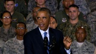 Obama says U.S. forces in Iraq will advise, not join combat