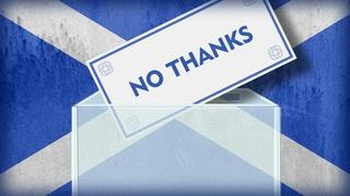 Scotland says 'no thanks' to independence