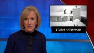 News Wrap: Buffalo races to clear snow before rain
