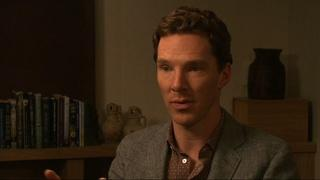 Benedict Cumberbatch on 'Imitation Code,' playing genius