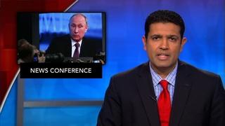 News Wrap: Putin vows West won't 'defang' Russia