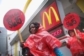 McDonald's formally accused of worker retaliation