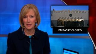 News Wrap: U.S. embassy in Yemen closed to public